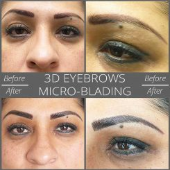 3D eyebrows Las Vegas Micro-Blading Tatto Correction Eyebrows