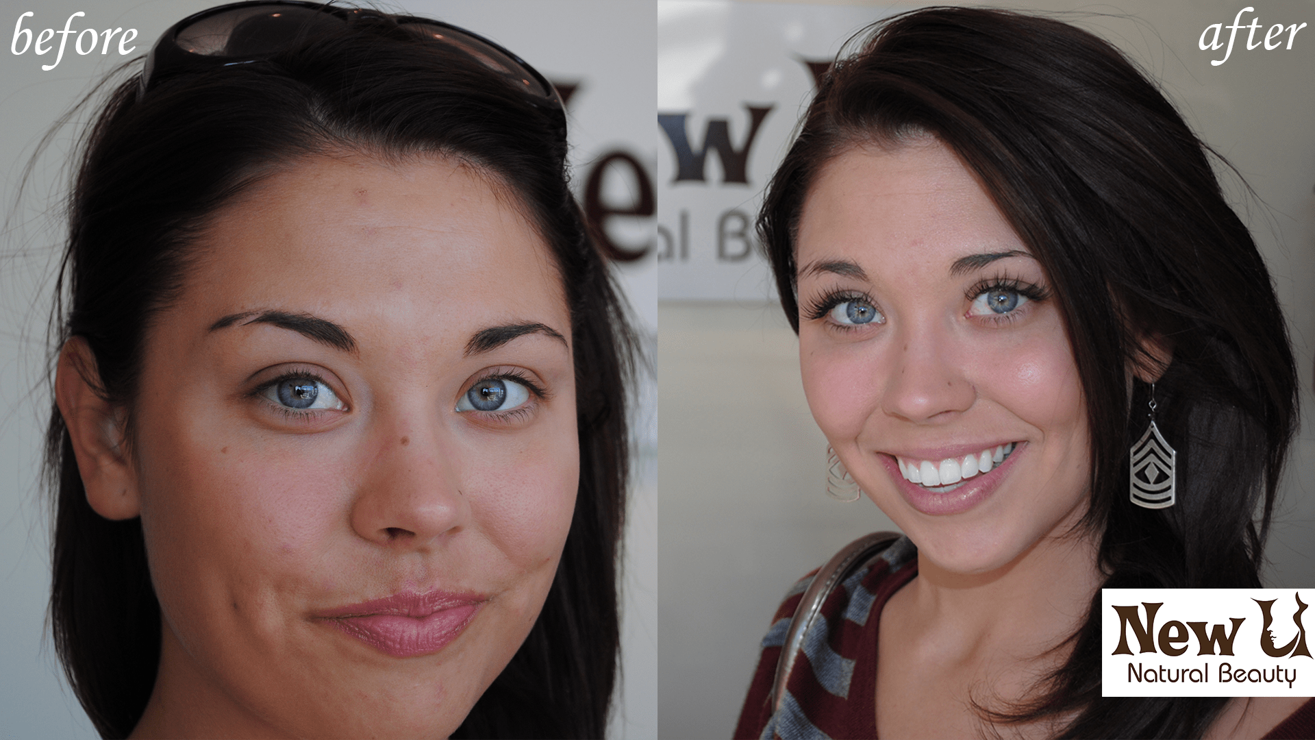 Eyelash Extensions 1 Las Vegas Before and After