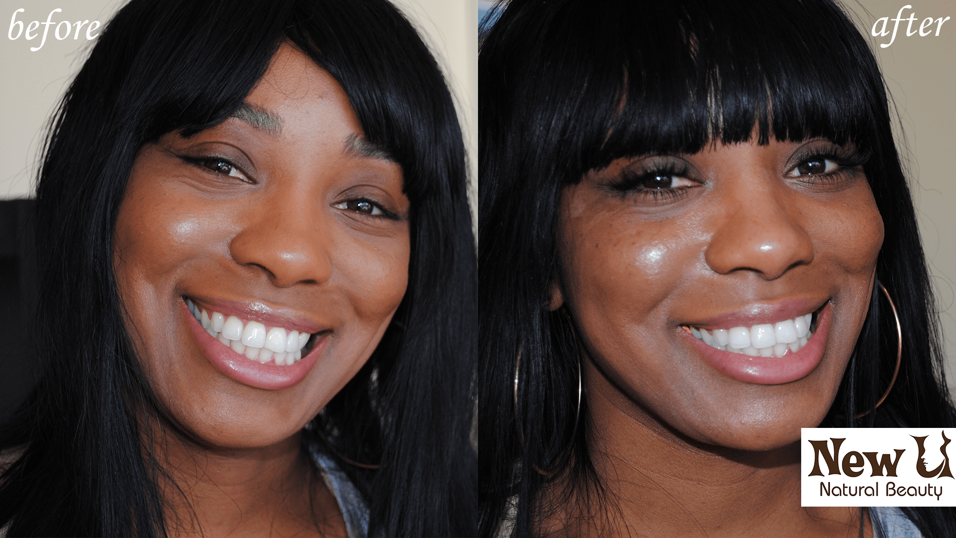 Eyelash Extensions 2 Las Vegas Before and After