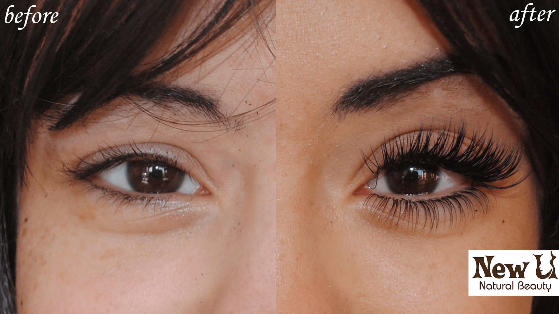 Eyelash Extensions 3D 3 Las Vegas Before and After