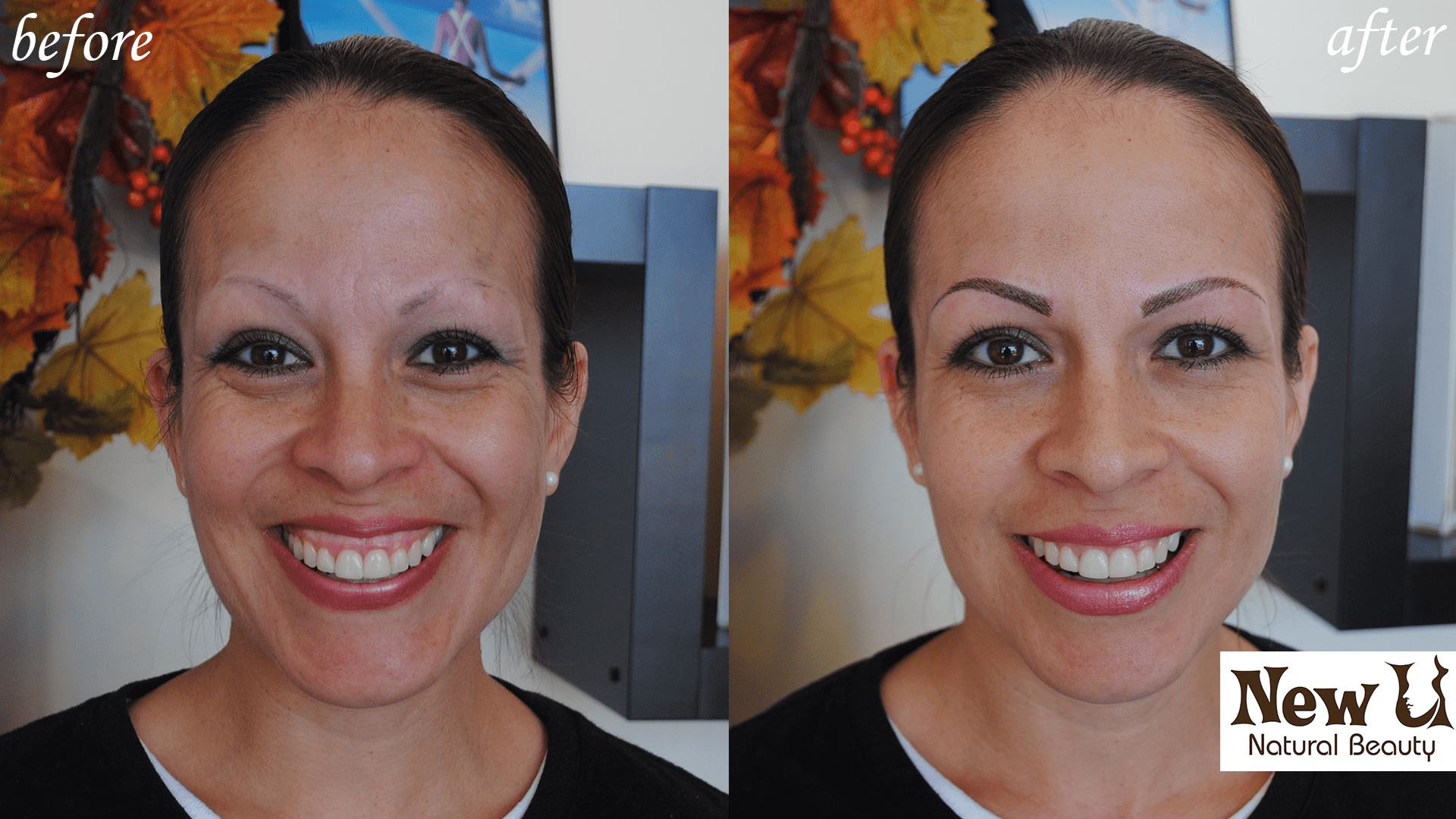 Permanent Makeup 6 Las Vegas Before and After