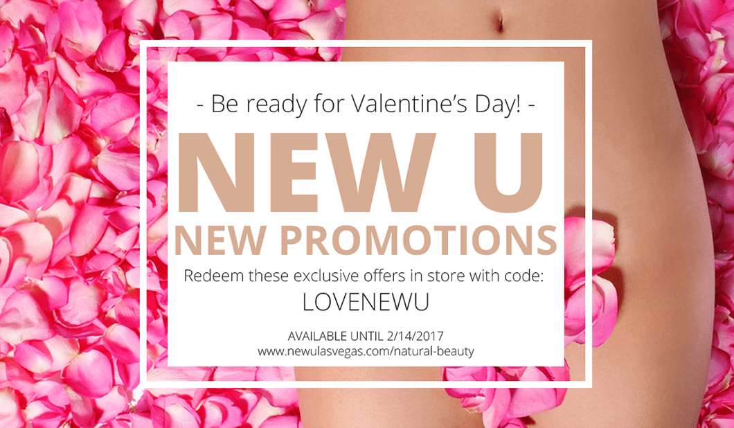 New U Beauty Salon Las Vegas Valentine's Day Promotions