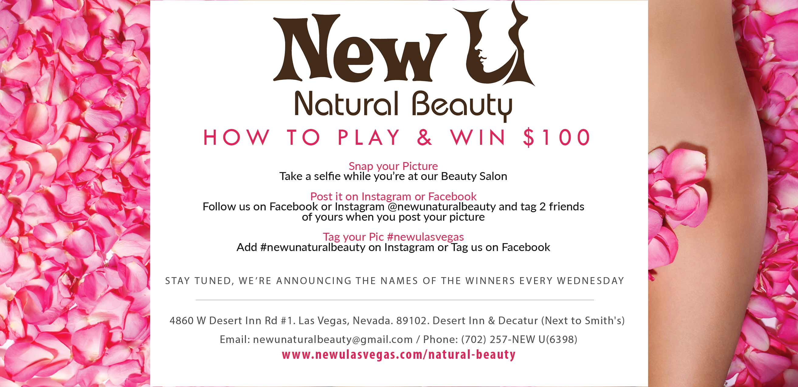 New U Contest Las Vegas Beauty Salon